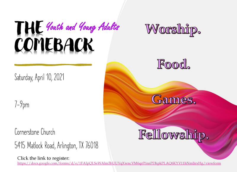 Comeback Service for Youth and Young Adults